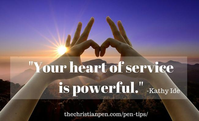 Your heart of service is powerful-KI