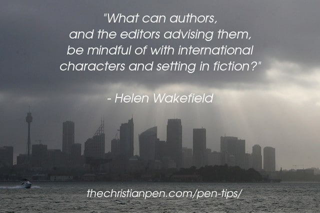 International Characters and Setting in Fiction