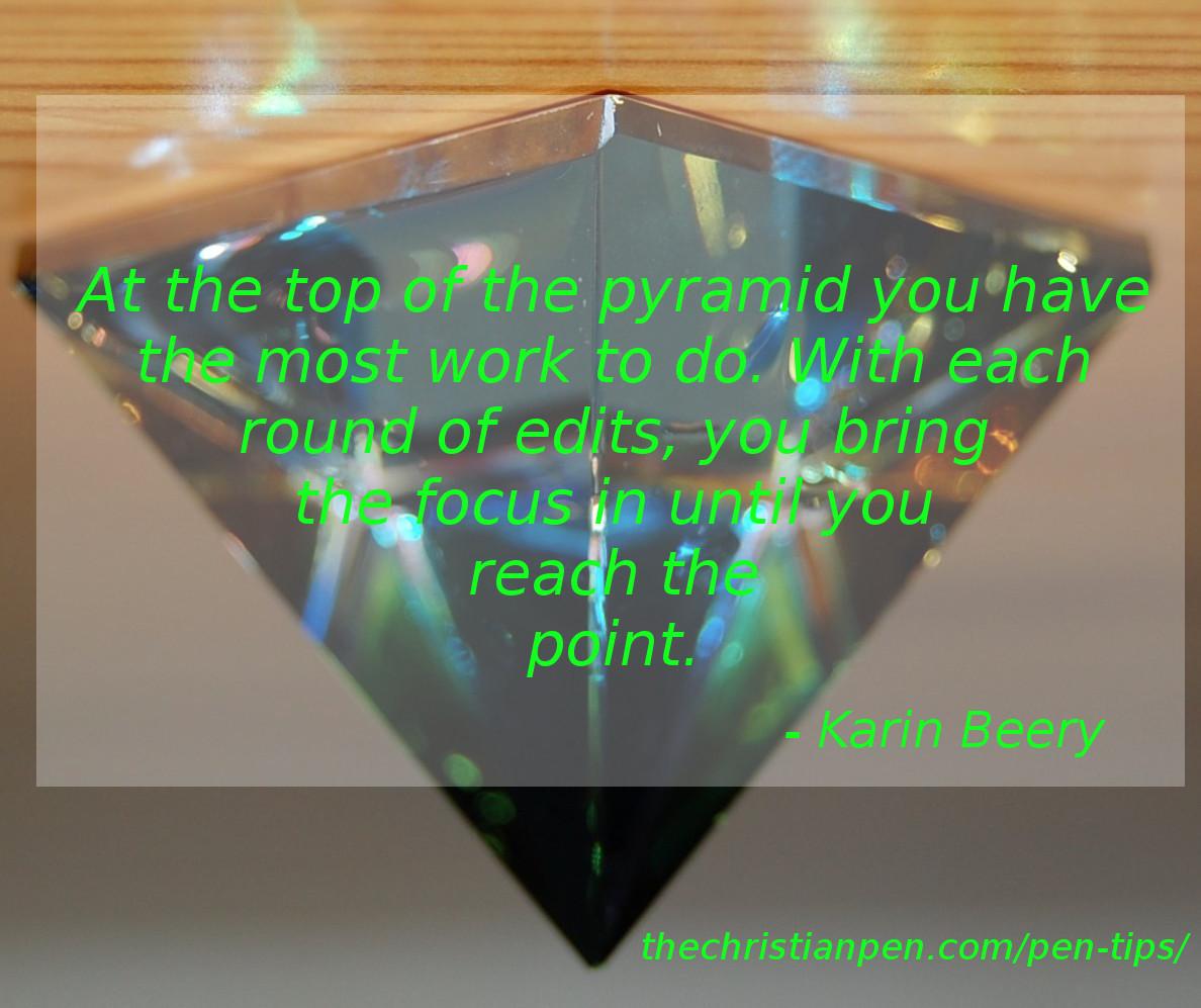 Editing: The Inverted Pyramid
