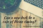 New Desk Brings New Organization
