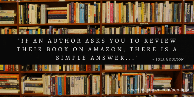 Dear Editor: Will You Review My Book on Amazon?