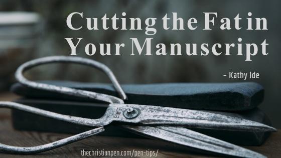 Cutting the Fat in Your Manuscript