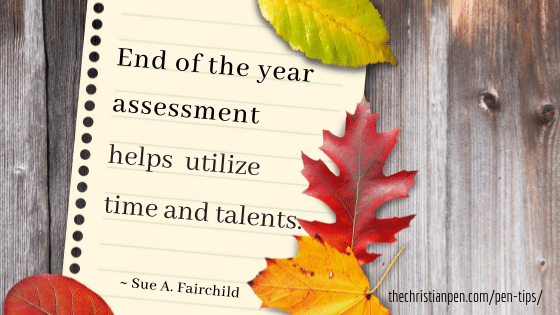 End of the Year Assessment