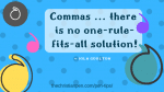 Dear Editor: Where Do I Add a Comma? (Part One)