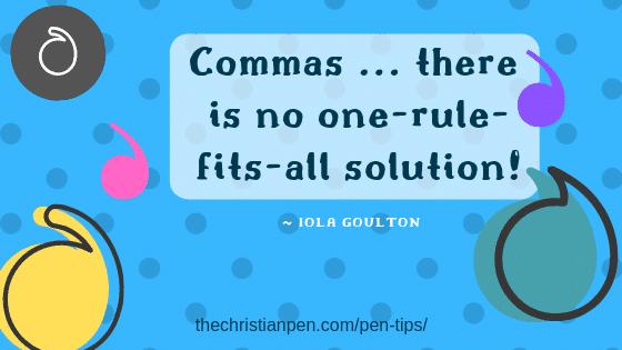 Dear Editor: Where Do I Add a Comma? (Part One)