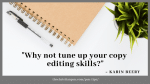 5 Content Editing Tips for Promotional Materials