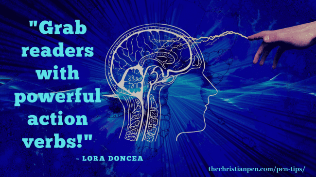 Action Verbs Instantly Stimulate the Brain