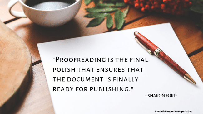 The Makings of an Excellent Proofreader