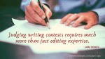 How to Judge Writing Contests