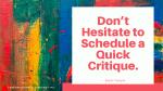 To Critique or Not to Critique Your Christian Manuscript