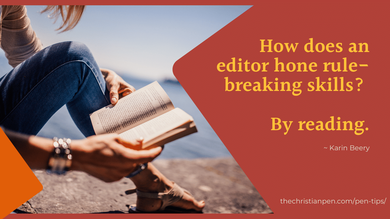 How Reading Helps Your Editing