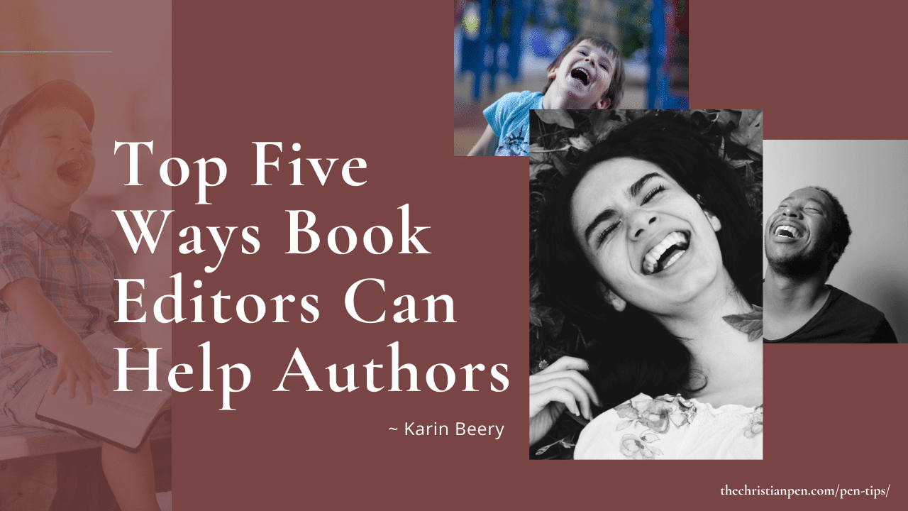 Top Five Ways Book Editors Can Help Authors