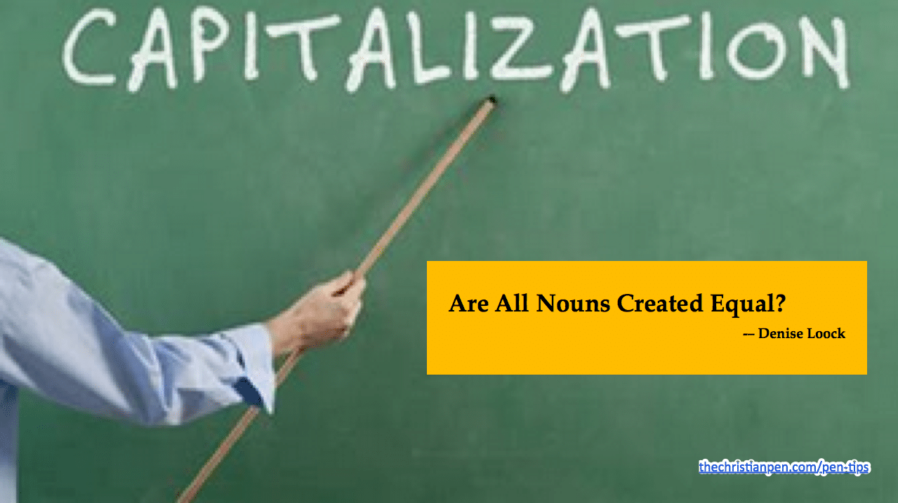 Are All Nouns Created Equal?